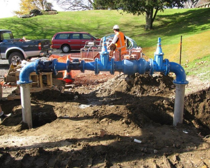 Water reticulation services